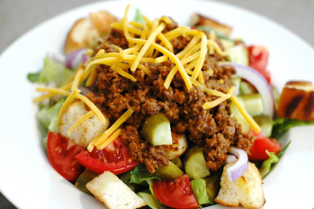 cheeseburger-salad