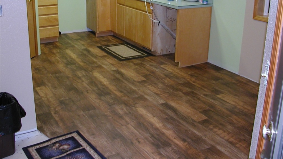 Linoleum flooring pros and cons america top 10 for Wood linoleum
