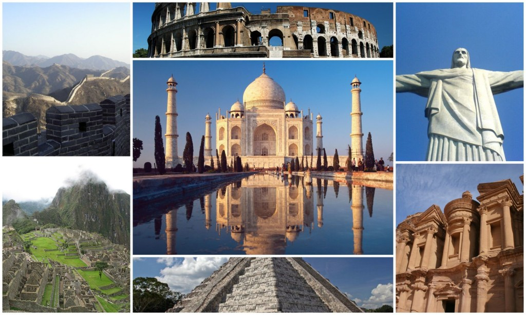 7 wonders of the world 2016