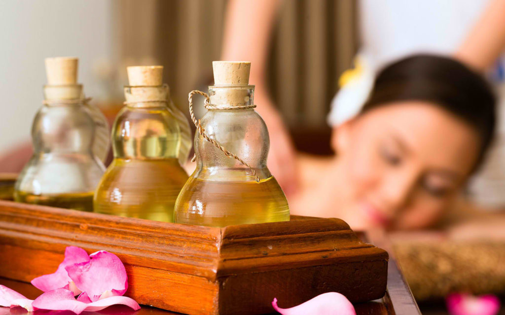 Have a aromatherapy massage done now!