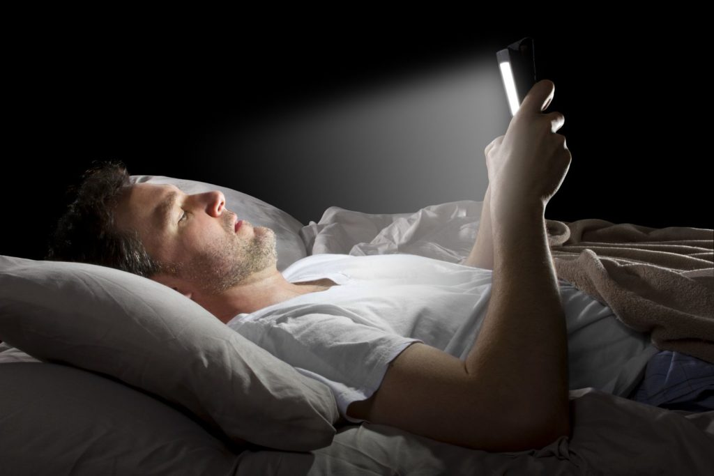 Are you spending too much time on your smart phone or tablet?