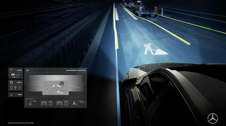 Mercedes Digital Smart Light